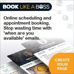 Book Like a Boss Online Scheduling Tool