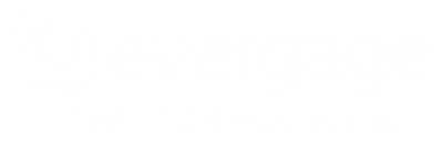Evergage White Knockout Logo