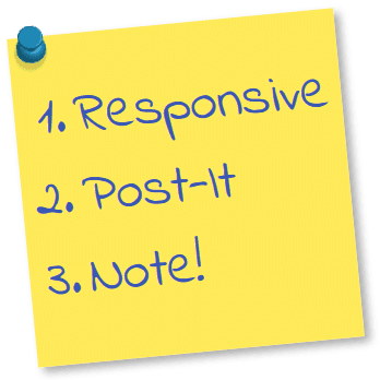 Responsive Post-it Note Module for Joomla 3.x