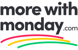 more with monday.com professional services logo